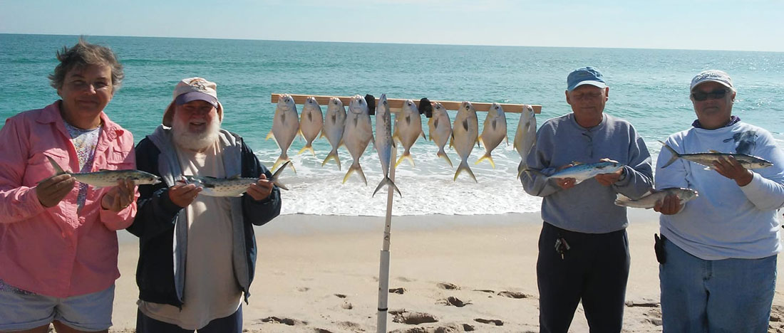 Great time of year for surf fishing spacefish for What fish are biting this time of year