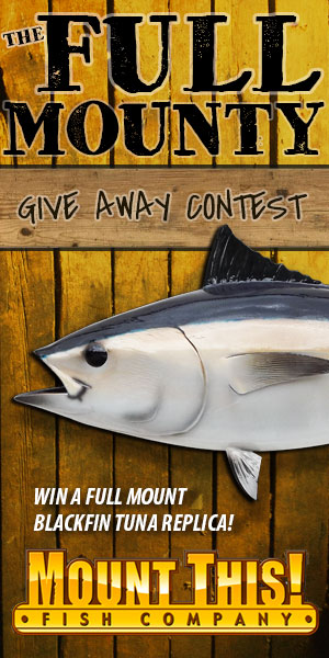 Mount This Fish Giveaway Contest