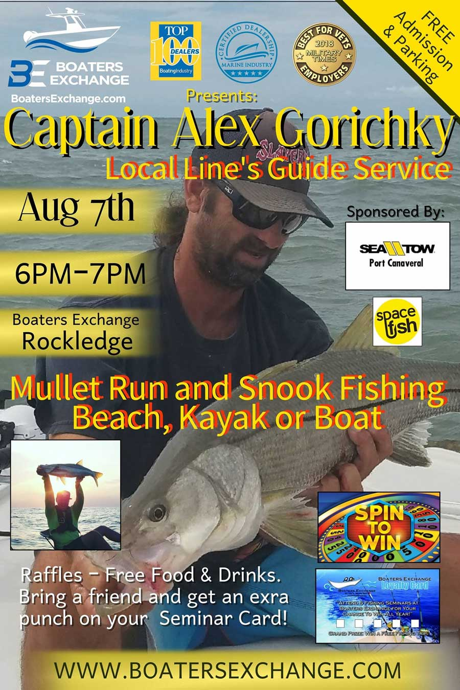 Capt. Alex Fishing Seminar