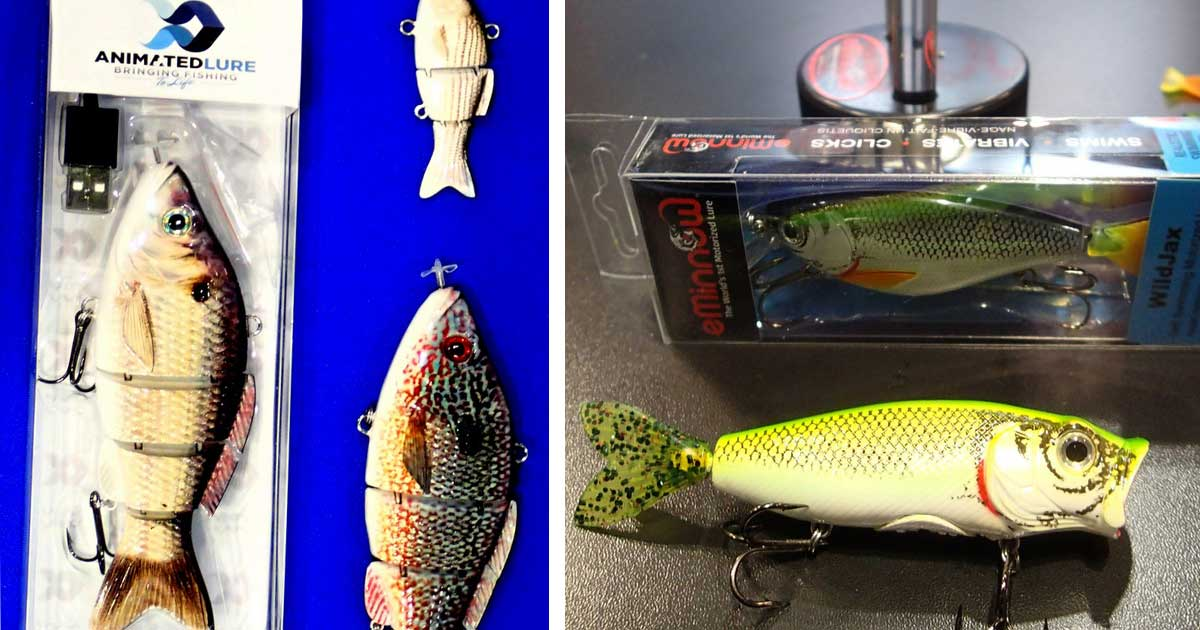 ICAST motorized lures