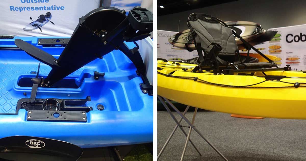 peddle-driven kayaks