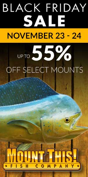 Mount This Fish Replica Giveaway Contest