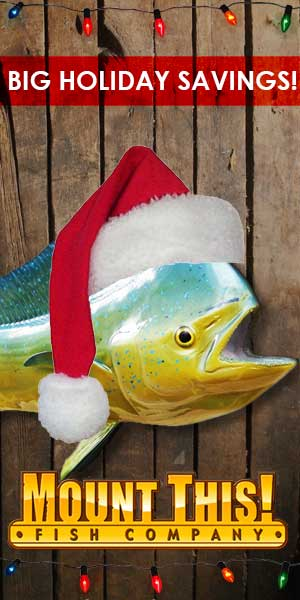 Christmas Fish Mounts