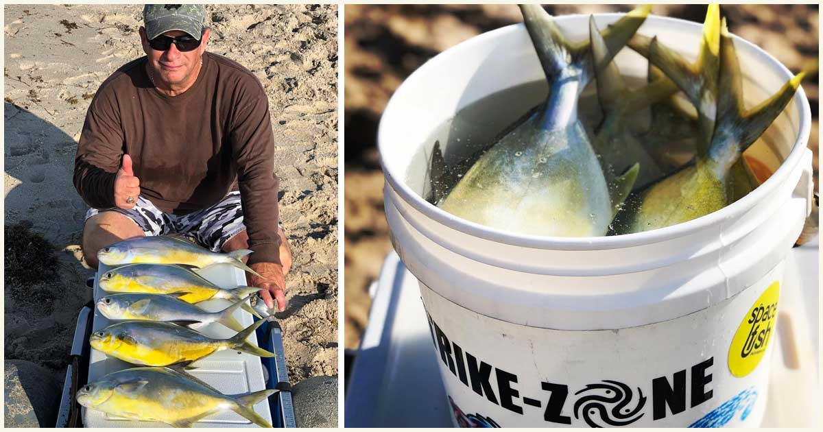 surf fishing seminar with Caleb Couture