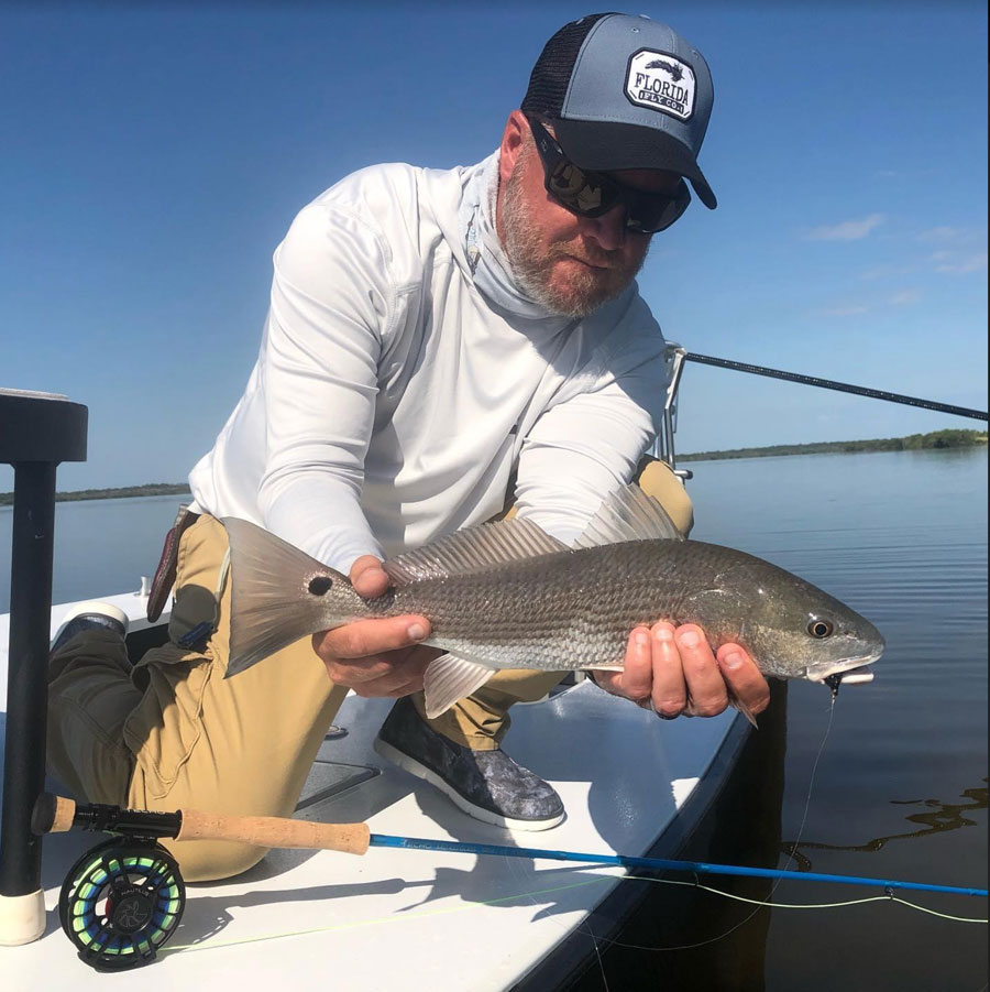 flats fly fishing report