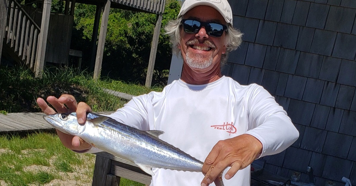 OBX fishing mackerel