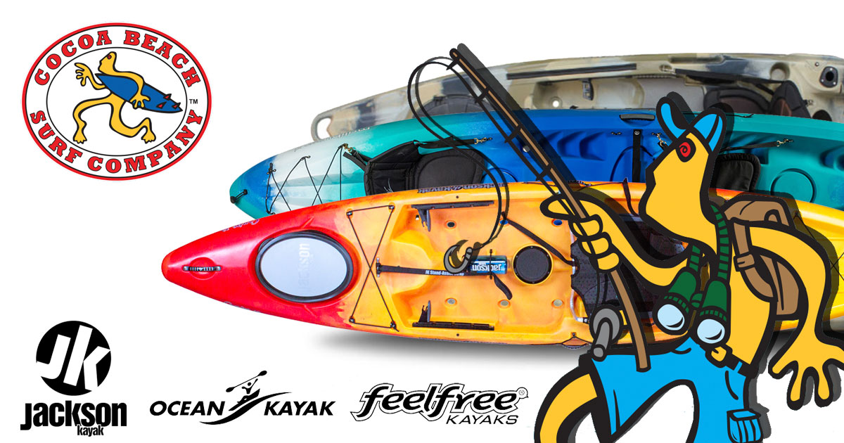 Cocoa Beach Surf Co Kayak Giveaway