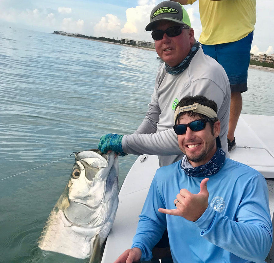 nearshore tarpon fishing