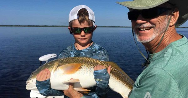 Capt. Jim Ross redfish