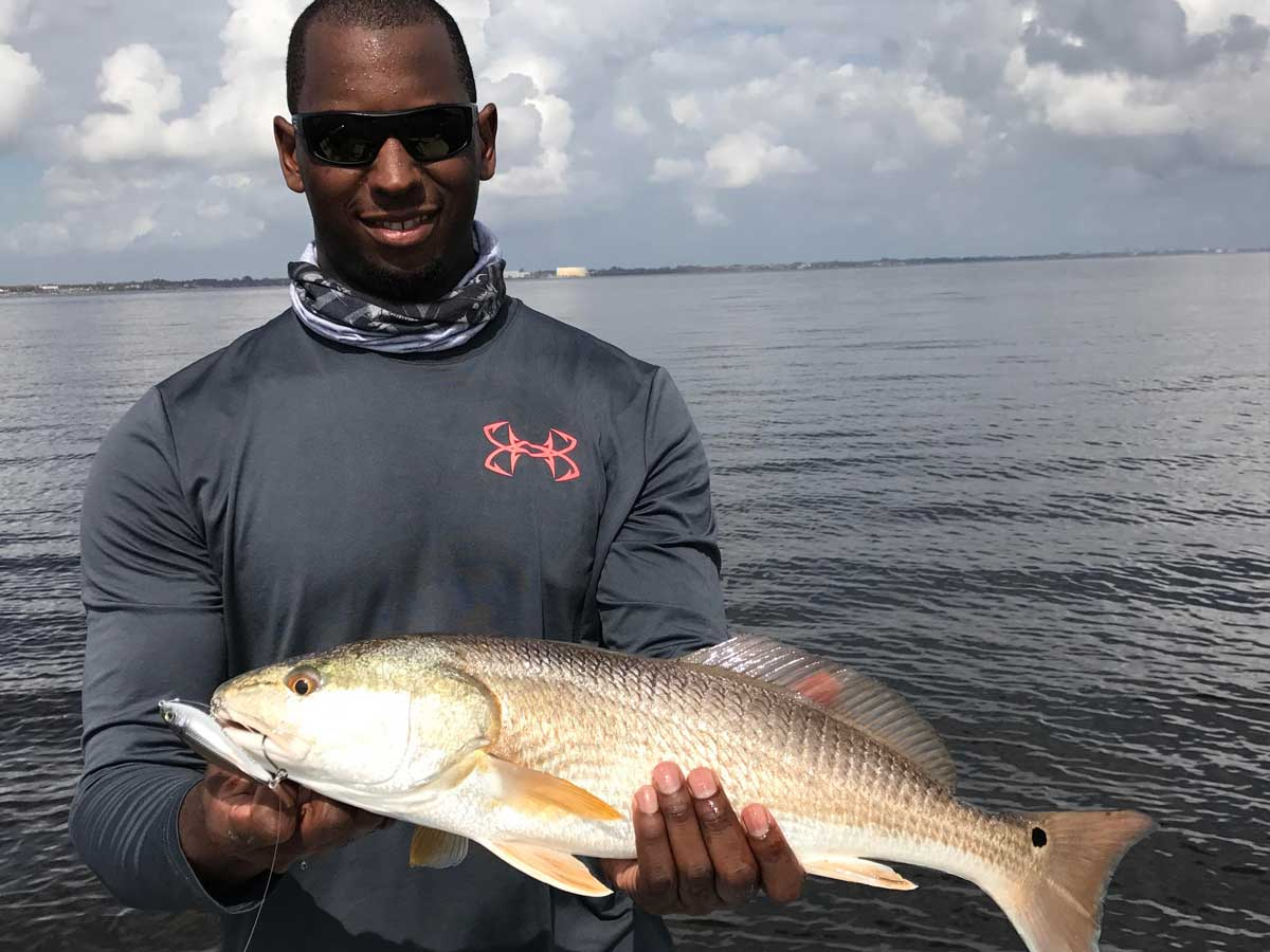fall mullet run redfish