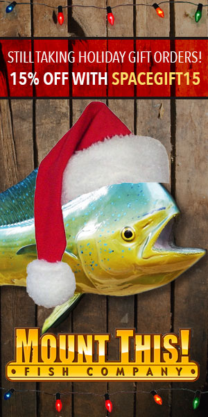Mount This Fish Holiday Sale!