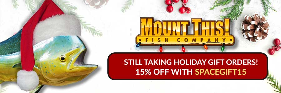 Mount This Fish Holiday Sales