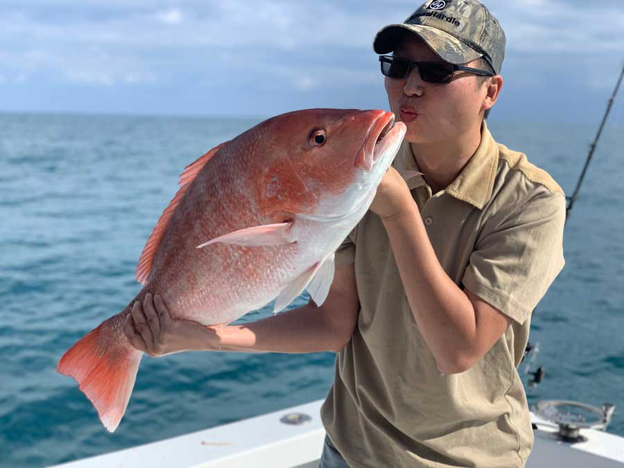 Port Canaveral Red Snapper fishing