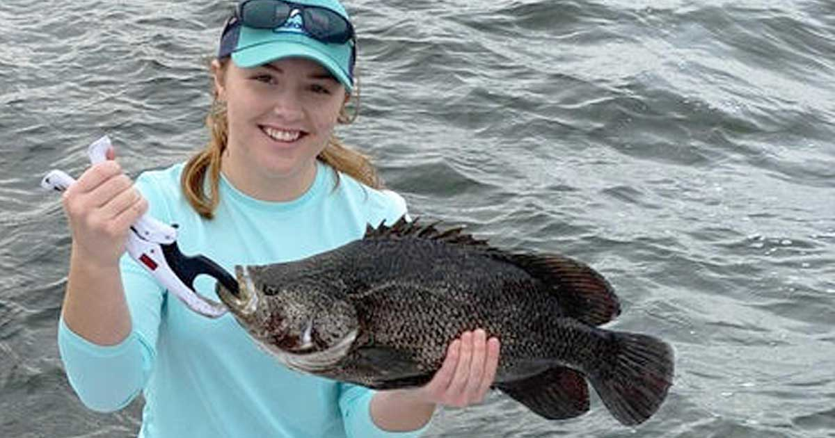 Tripletail fishing Sebastian Inet