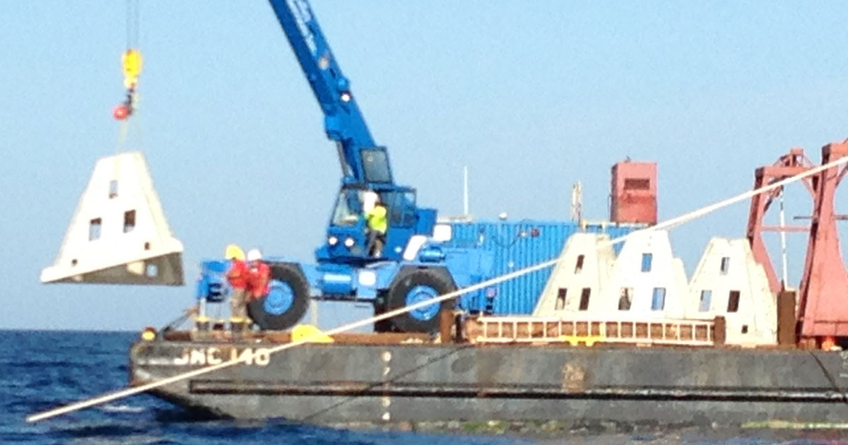 port canaveral reef deployment