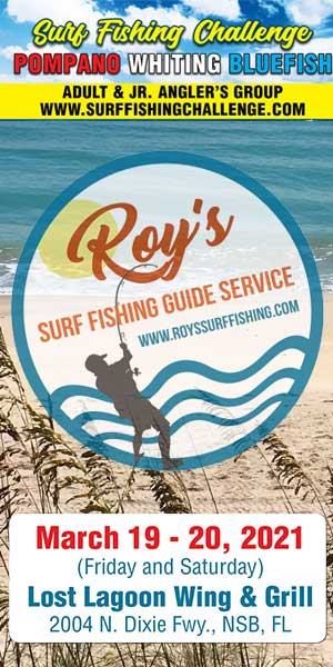 Roy's Surf Fishing Challenge