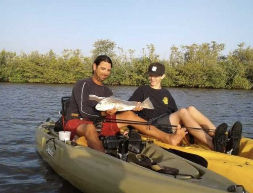 Late Winter Kayak Fishing on the Space Coast